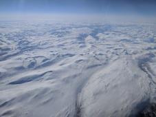 Somewhere over Sweden
